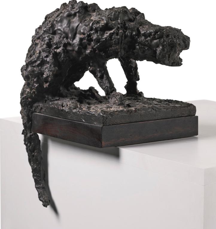 Robert Clatworthy-Crouching Cat-1954