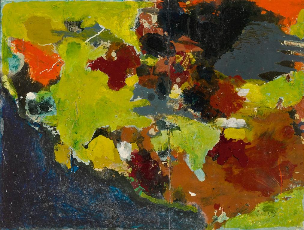 Gillian Ayres-Untitled-1957