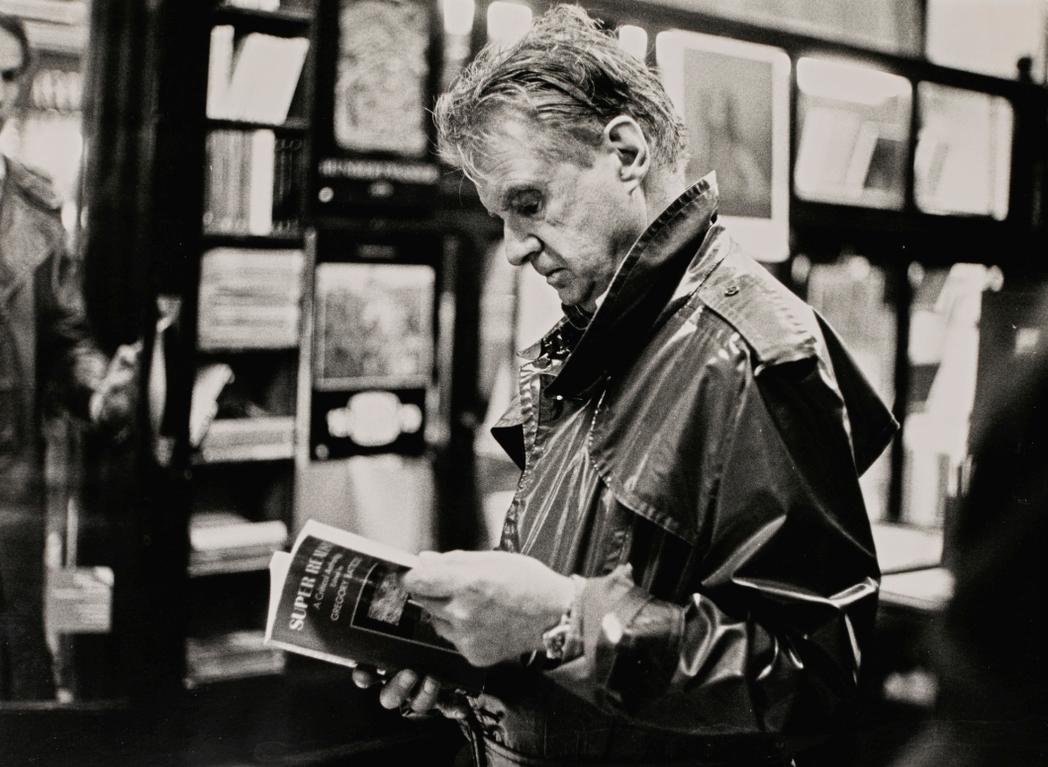 Neil Libbert-Francis Bacon, Bookshop In Charing Cross Road, London, 1984-1984