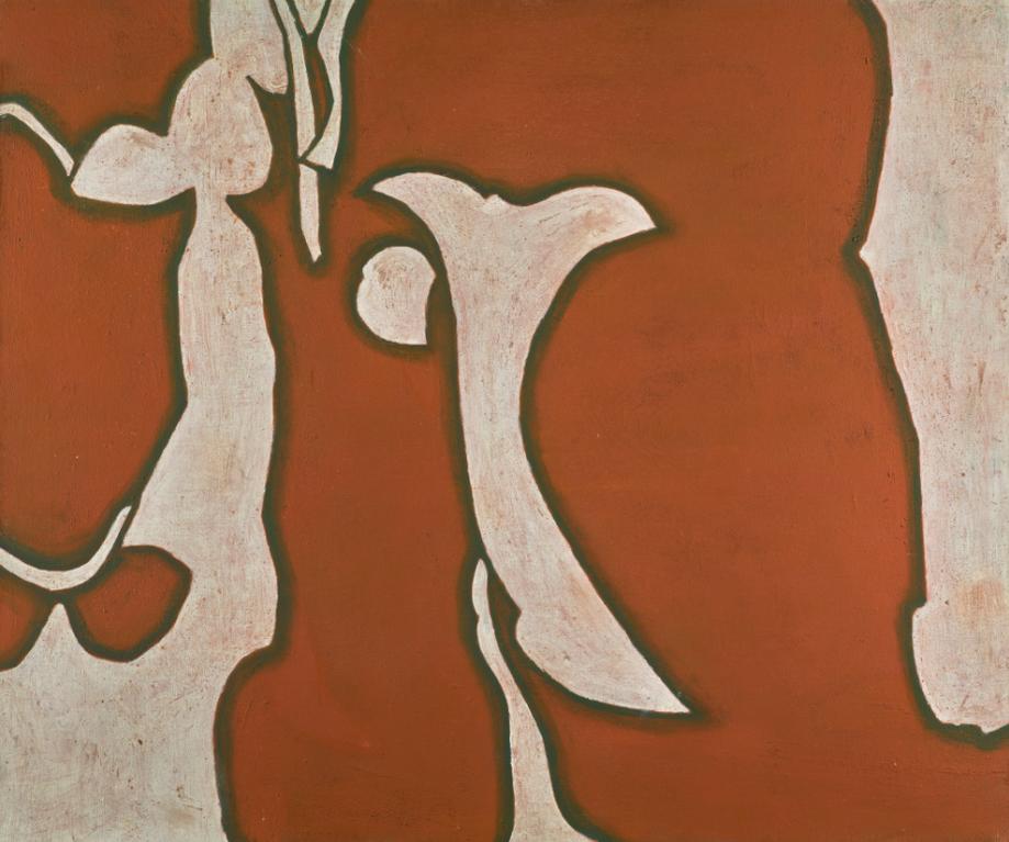 Prunella Clough-Red Garden-1969