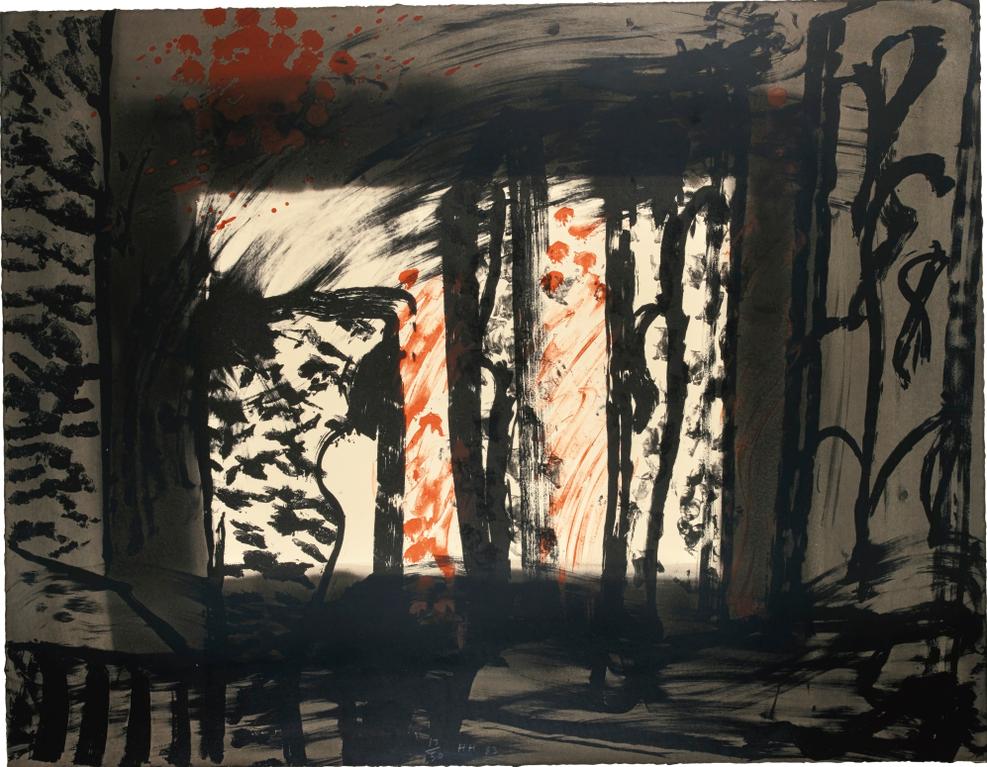Howard Hodgkin-For Bernard Jacobson (H. 38)-1979