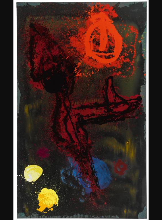 John Hoyland-Carib-1989