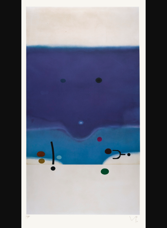 Victor Pasmore-Senza Titolo 6 (L. G54)-1988