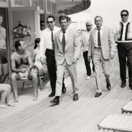Terry O'Neill-Frank Sinatra On The Boardwalk, Miami, 1968-1968