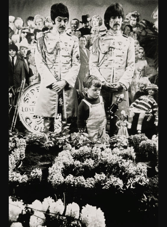 Michael Cooper-Adam Cooper At The Sgt. Peppers Cover Shooting, 1967-1967