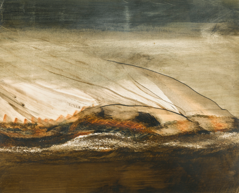 Sir Sidney Nolan - Landscape (Antarctica Study)-1965