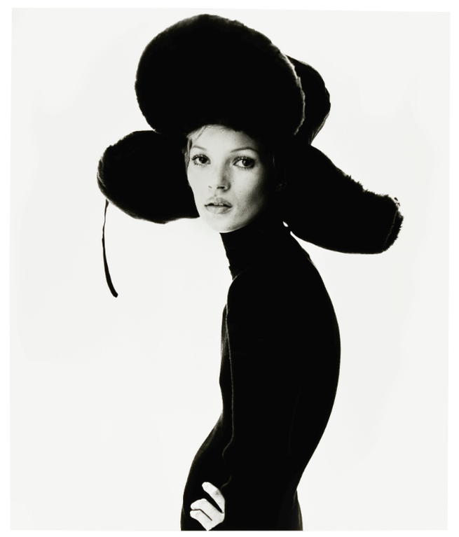Steven Klein-Girl With Hat (Kate Moss), 1993-1993
