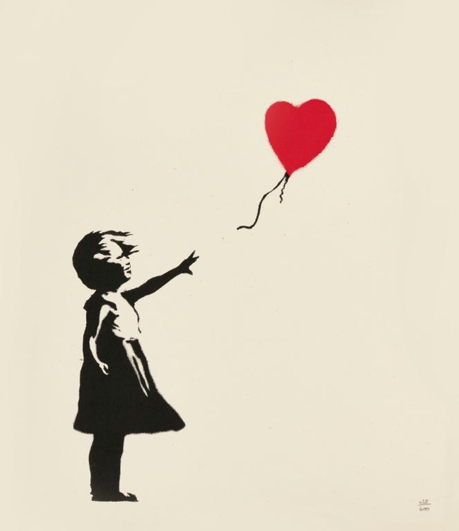 Banksy-Girl With Balloon-2004