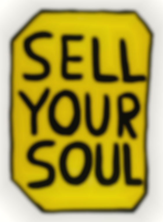 David Shrigley-Sell Your Soul-2012