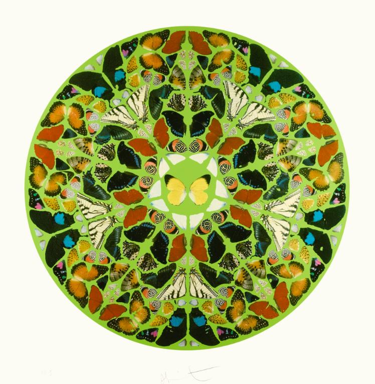 Damien Hirst-Psalm: Domini Est Terra-2010
