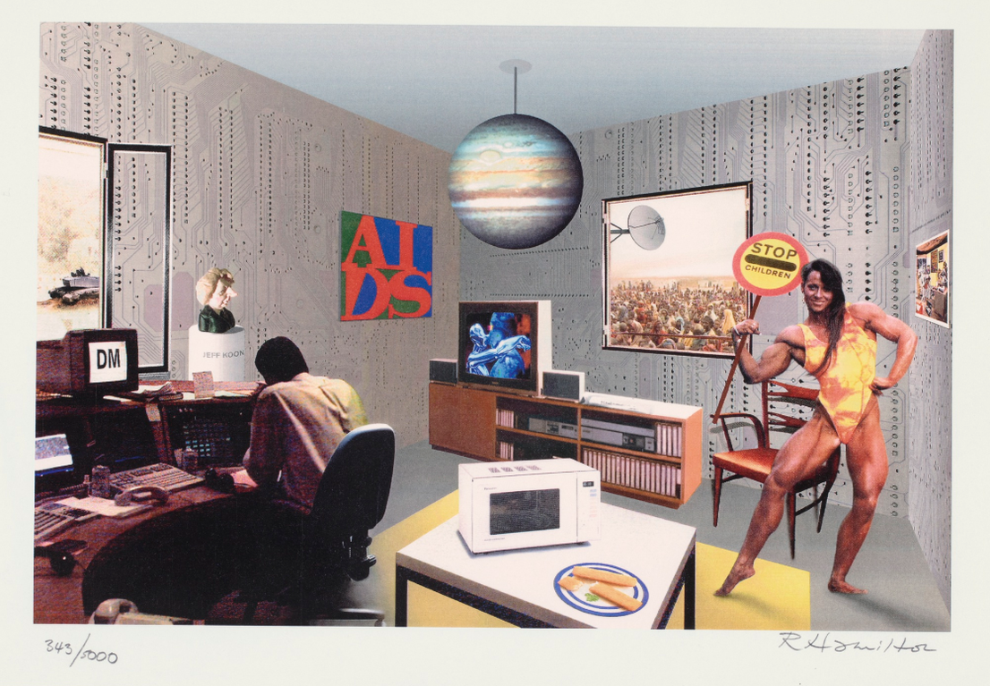 Richard Hamilton-Just What Is It That Makes Todays Homes So Different? (L. 177)-1993