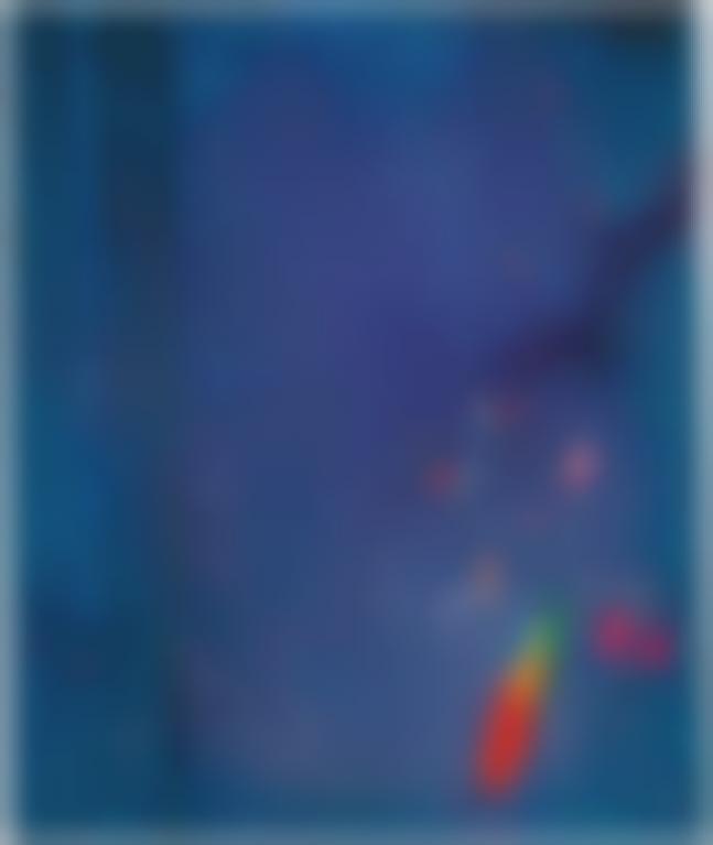 John Hoyland-Freedom Bird-2002