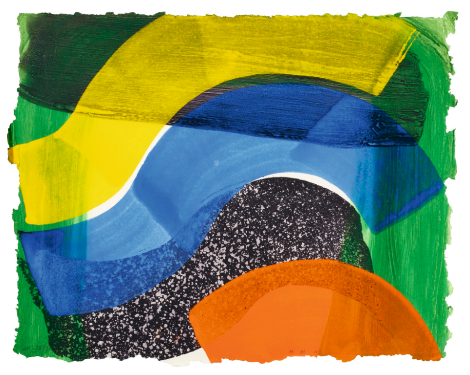 Howard Hodgkin-Put Out More Flags (H. 90)-1992