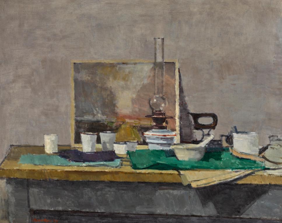 William Brooker-Composition In The Studio-1959