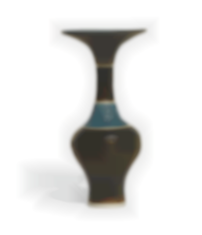 Dame Lucie Rie - Bottle Vase With Flaring Lip-1979