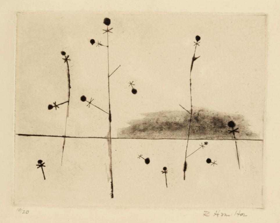 Richard Hamilton-Microcosmos (Plant Cycle) (L. 39)-1950