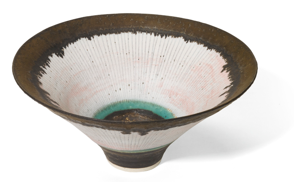 Dame Lucie Rie - Flaring Bowl-1979