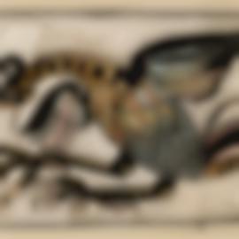 Henri Gaudier-Brzeska-Eagle Stretching Its Wings