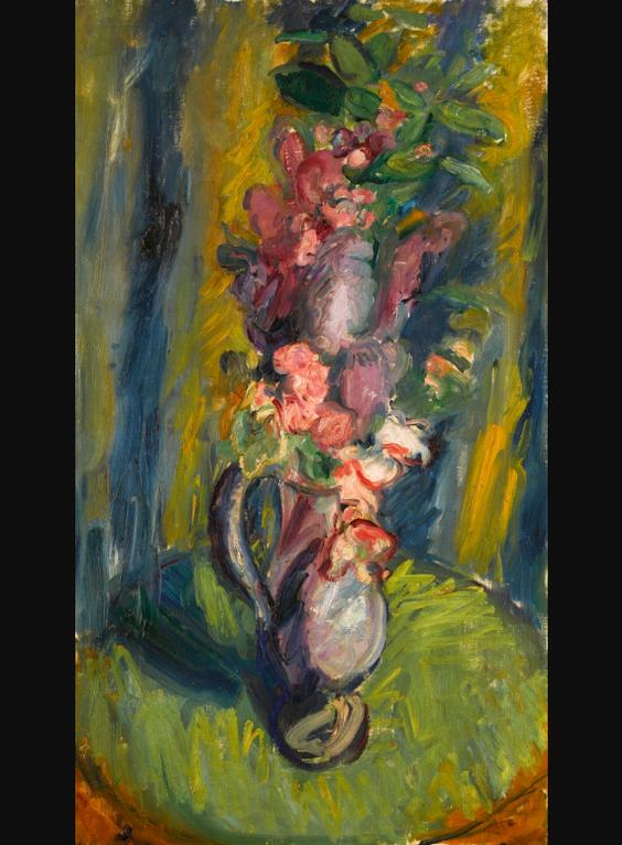 Sir Matthew Smith - Flowers In A Jug-1926
