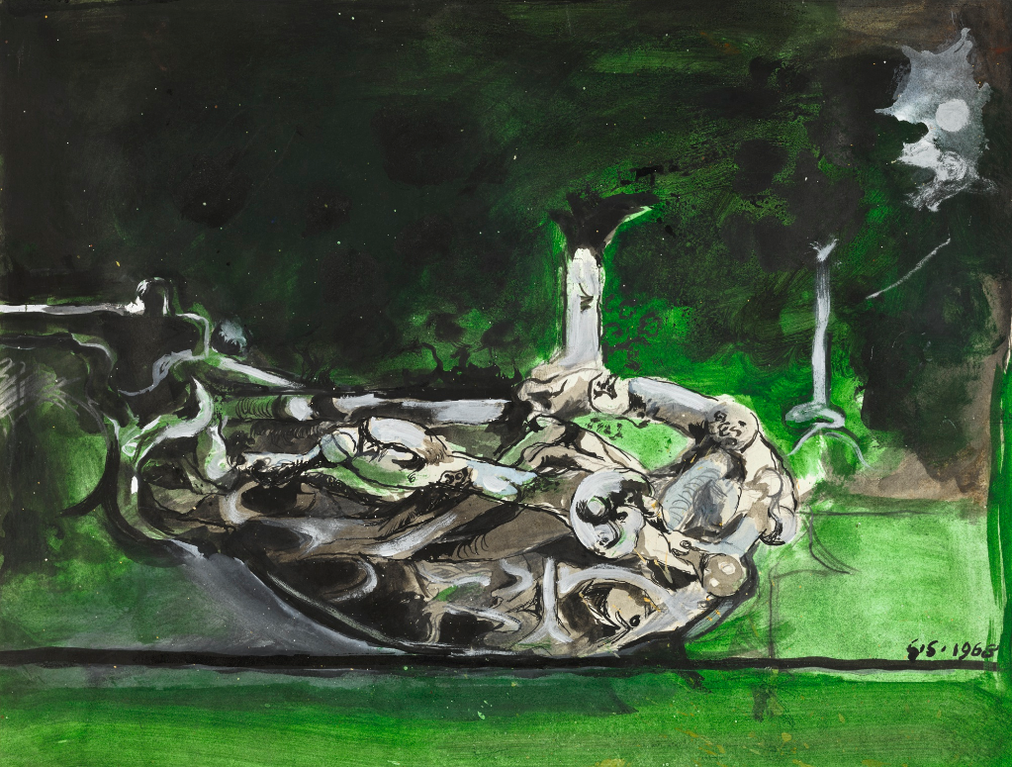 Graham Sutherland-Swan Like Form-1968
