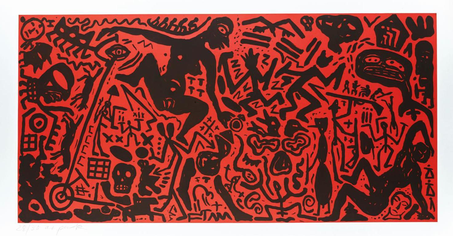 A.R. Penck-Ohne Titel-1980