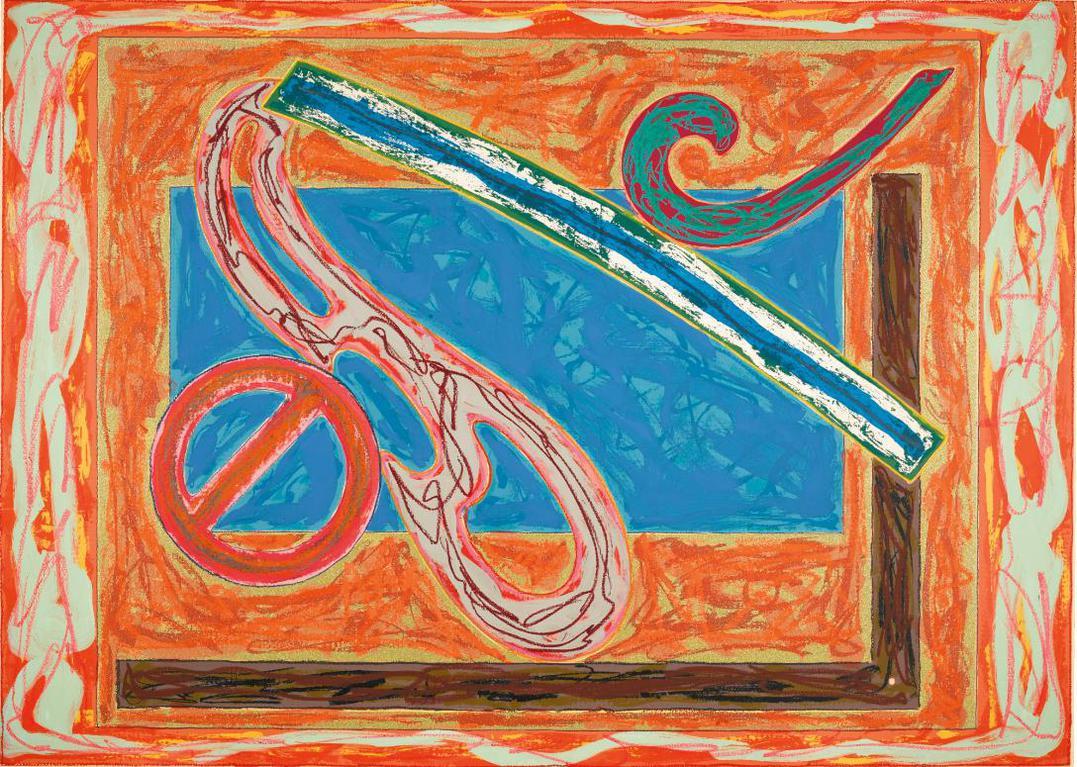 Frank Stella-Bonin Night Heron (Axsom 112.4)-1979