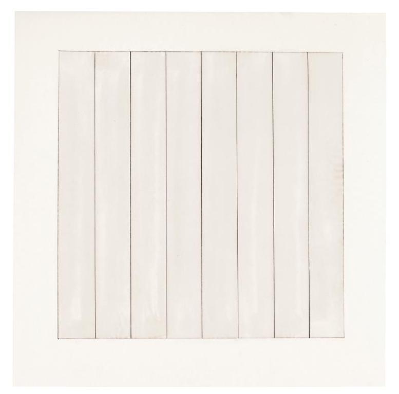 Agnes Martin-Paintings And Drawings 1974-1990-1991