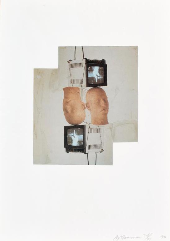 Bruce Nauman-Frankfurt Portfolio-1990