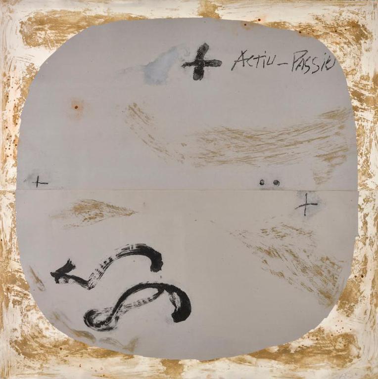 Antoni Tapies-Gran Cercle (G. 1181)-1988
