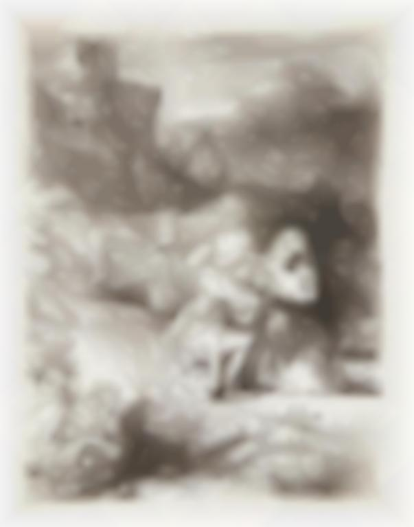 Rembrandt van Rijn-The Agony In The Garden; Christ Seated Disputing With The Doctors; And Christ And The Woman Of Samaria: An Arched Print (B., Holl. 75, 64, 70; New Holl. 269, 281, 302; H. 293, 277, 294)-1657
