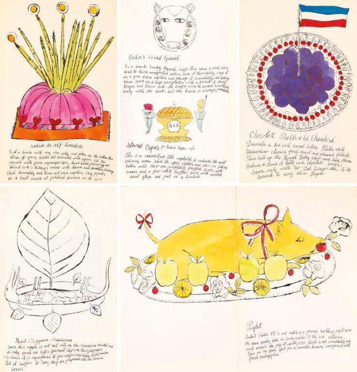 Andy Warhol-Wild Raspberries (F. & S. Iv.126-143)-1959