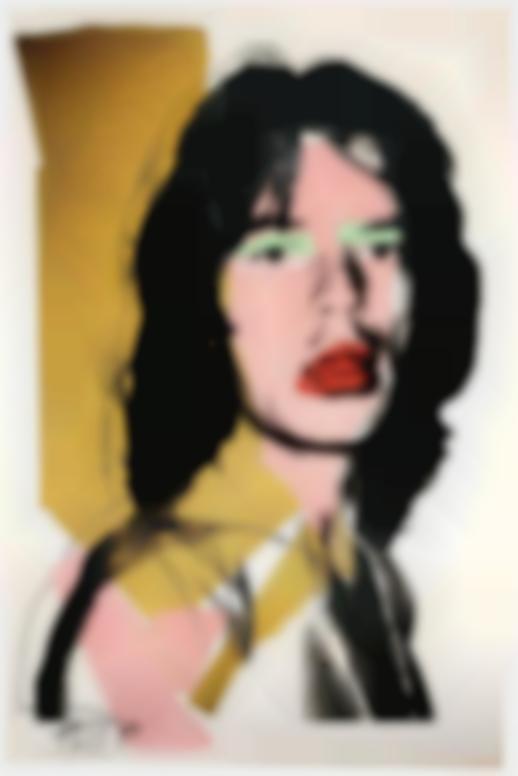 Andy Warhol-Mick Jagger (F. & S. II.143)-1975