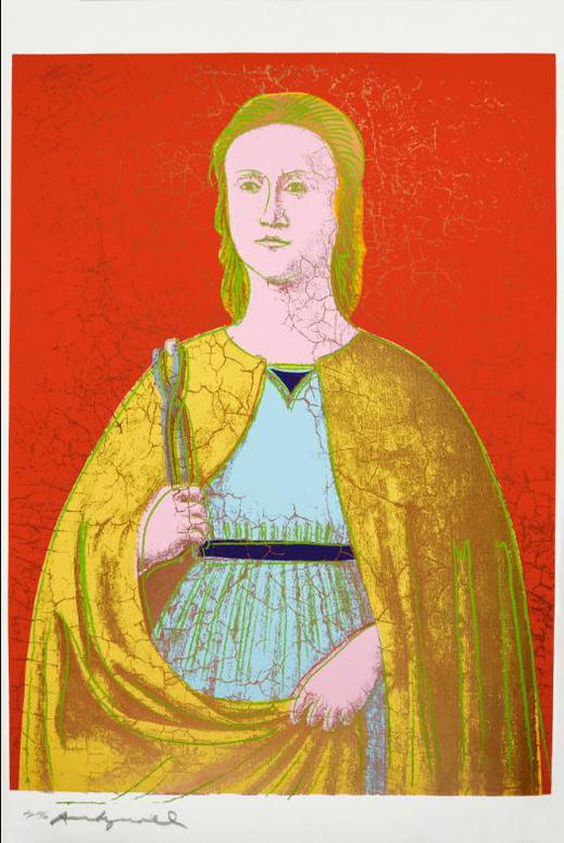 Andy Warhol-Saint Apollonia (See F. & S. II.B330-333)-1984