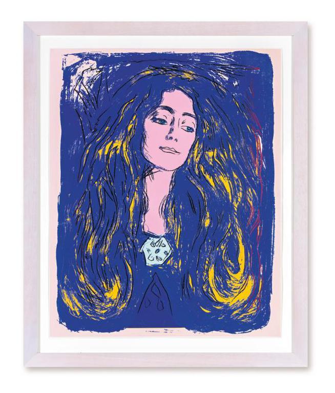 Andy Warhol-Eva Mudocci (After Munch) (F. & S. IIIa.59)-1984
