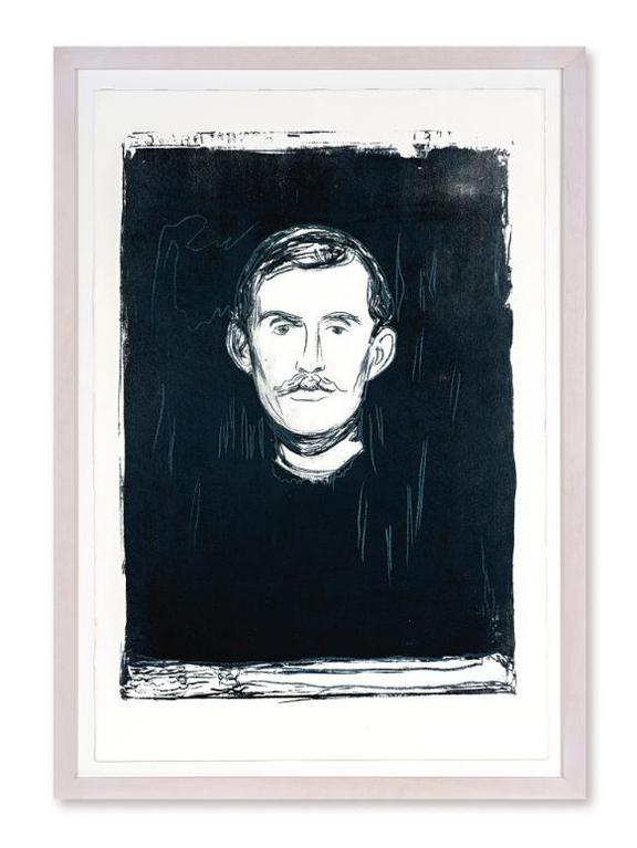 Andy Warhol-Self-Portrait With Skeletons Arm (After Munch) (F. & S. IIIa.61)-1984