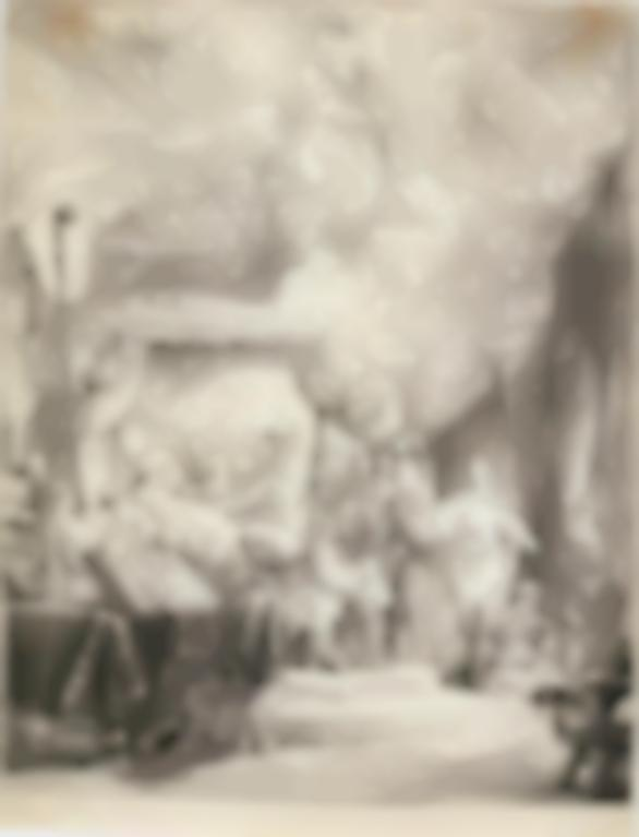 Rembrandt van Rijn-The Death Of The Virgin (B., Holl. 99; New Holl. 173; H. 161)-1639