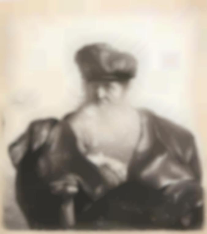 Rembrandt van Rijn-Old Man With Beard, Fur Cap, And Velvet Cloak (B., Holl. 262; New Holl., H. 92)-1631