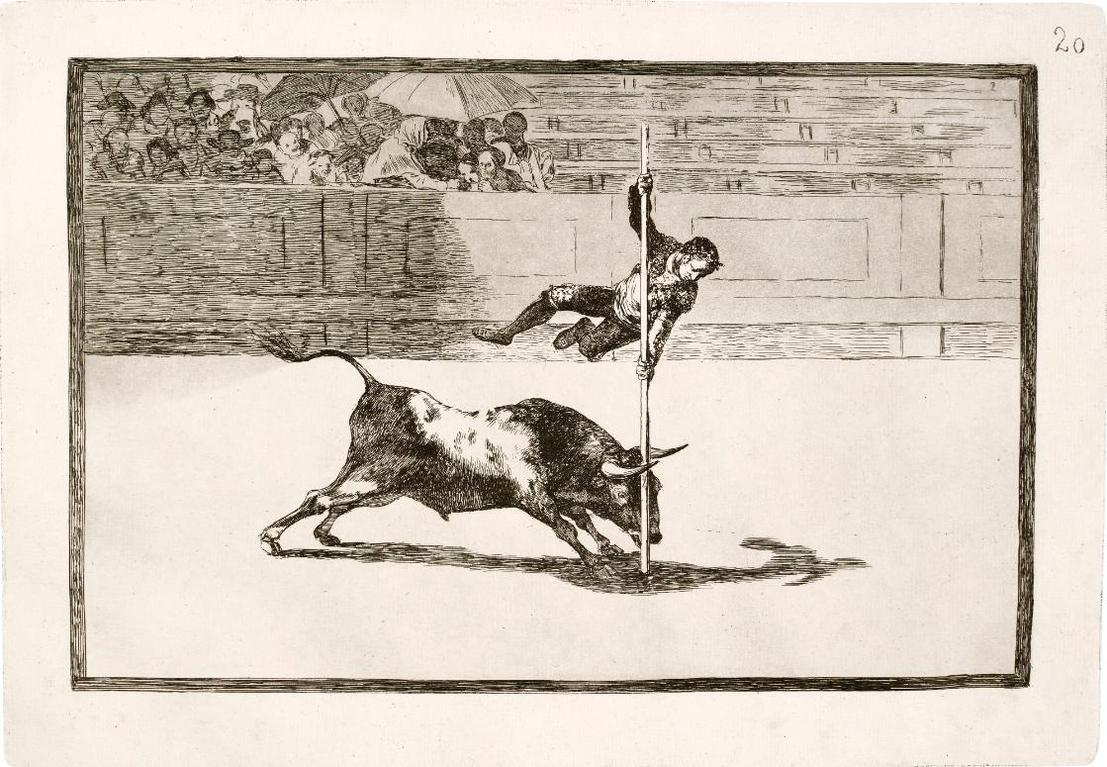 Francisco de Goya-La Tauromaquia (Delteil 224-56; Harris 204-36)-1816