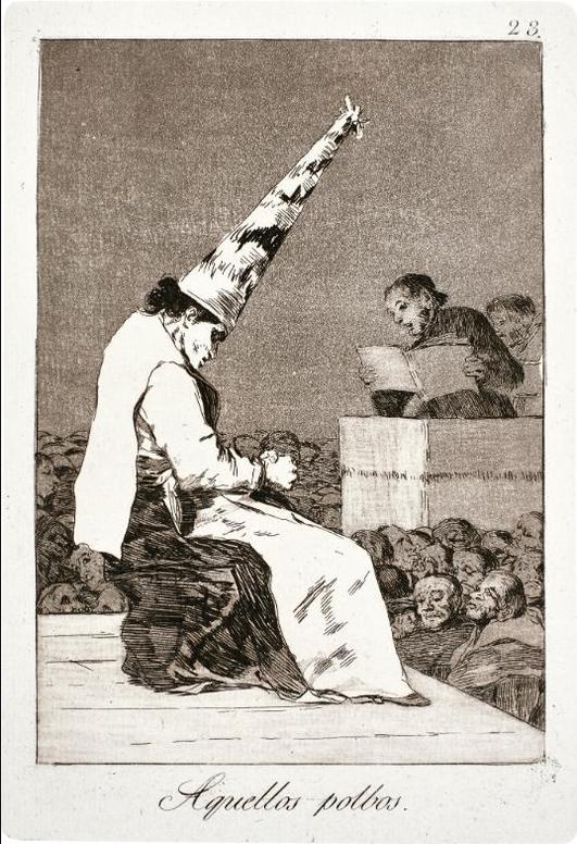 Francisco de Goya-Los Caprichos (D. 38-117; H. 36-115)-1798