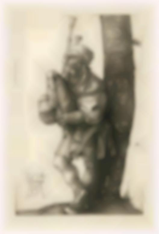 Albrecht Durer-The Bagpiper (Bartsch 91; Meder, Hollstein 90)-1514