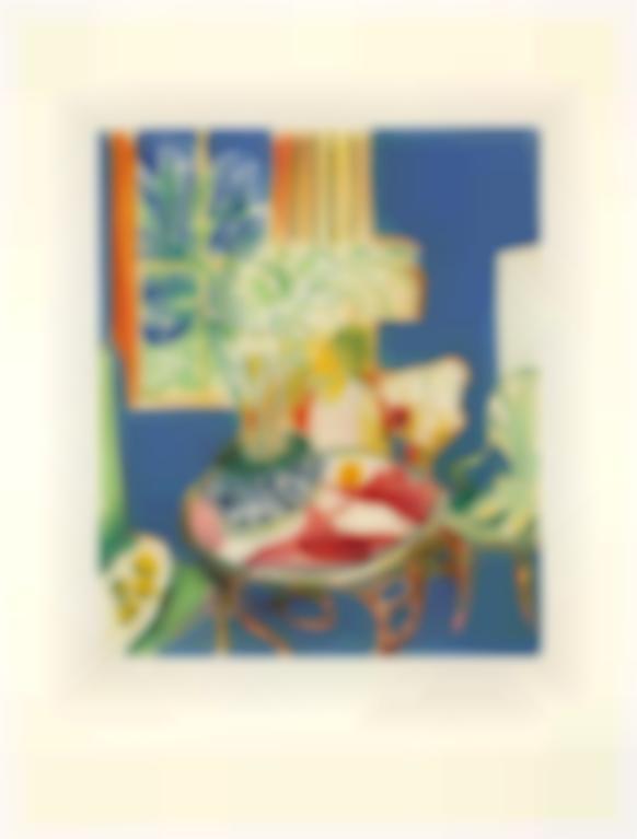 Henri Matisse-After Henri Matisse - Petit Interieur Bleu (Duthuit Appendix Iv)-1952