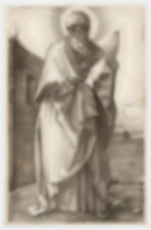 Albrecht Durer-St Paul (B. 50; M., Holl. 47)-1514