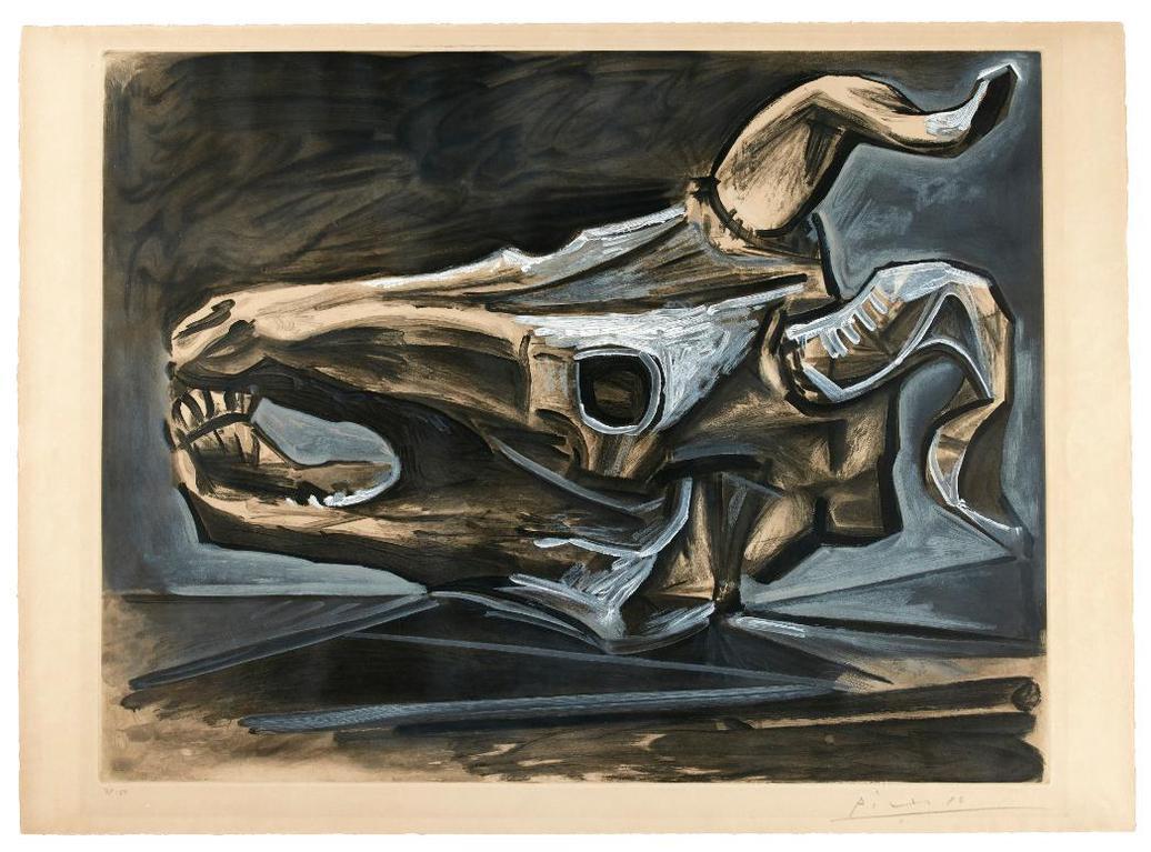 Pablo Picasso-After Pablo Picasso - Crane De Chevre Sur La Table-1953