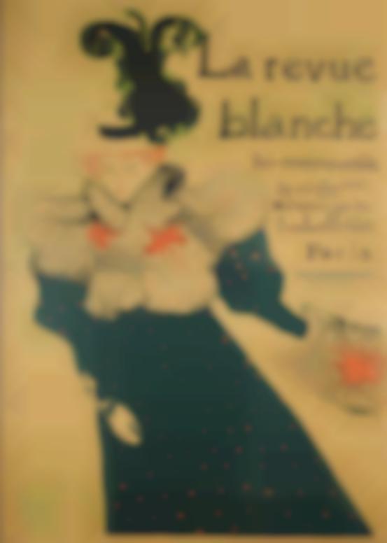 Henri de Toulouse-Lautrec-La Revue Blanche (D. 355; Adr. 130; W. P16)-1895