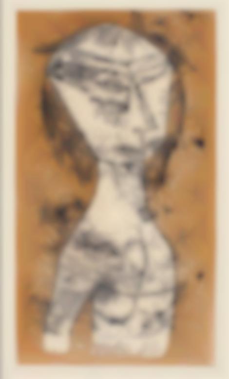 Paul Klee-Die Heilige Vom Inneren Licht (Kornfeld 81)-1921
