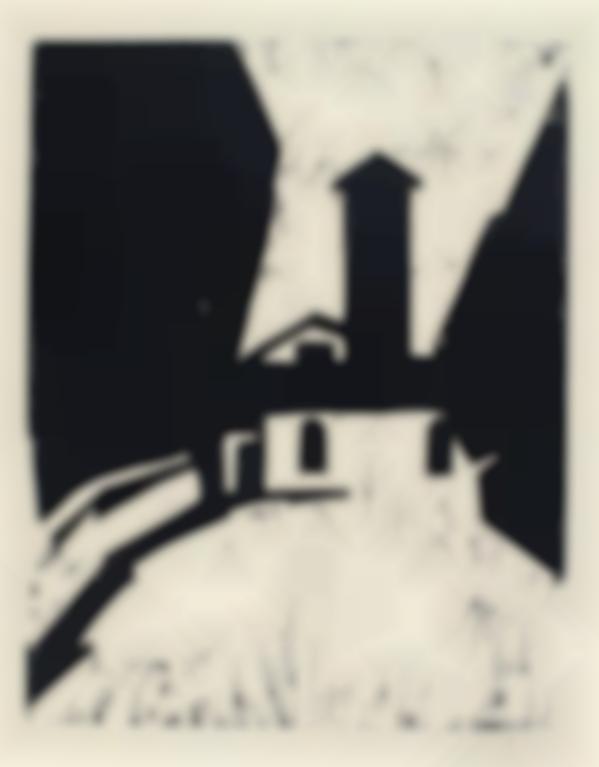 Karl Schmidt-Rottluff-Villa Mit Turm (Schapire H68)-1911