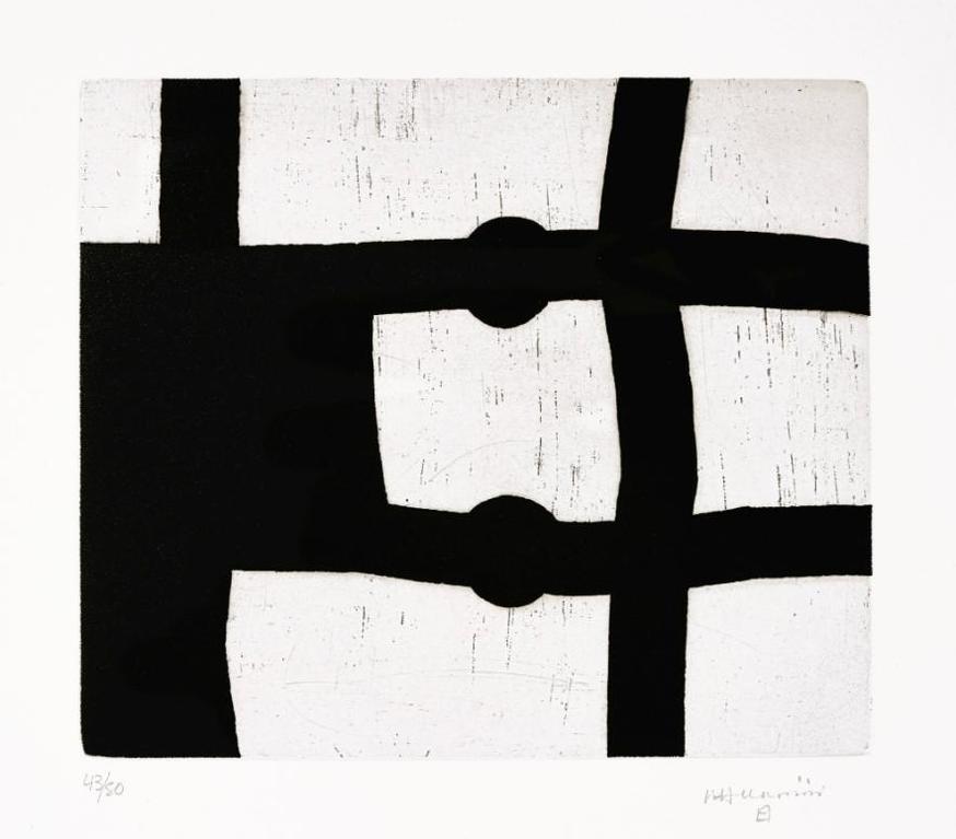 Eduardo Chillida-Untitled (Menturatu)-1991