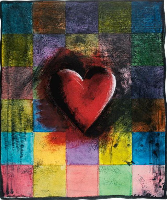 Jim Dine-The Handkerchief (Carpenter 71)-1993