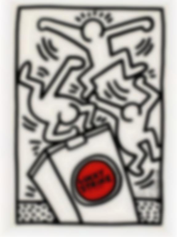 Keith Haring-Lucky Strike (Littmann Page 79)-1987