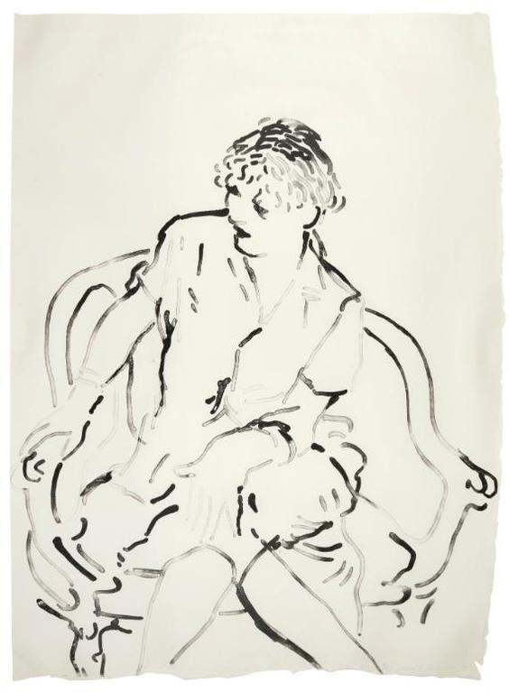 Davd Hockney - Celia Inquiring (Museum Of Contemporary Art Tokyo 223)-1979